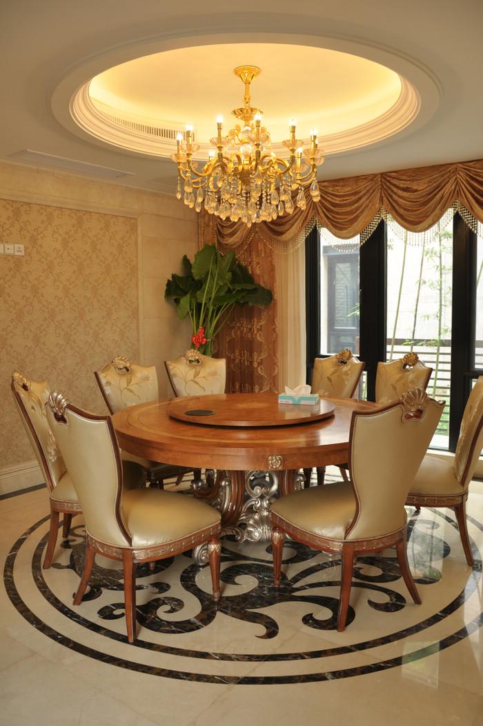 唐郡装修-别墅图片大全-欧式古典风格
