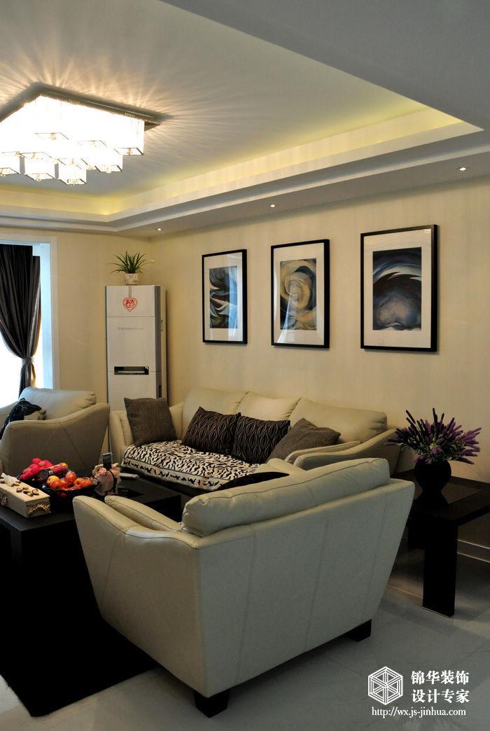 波士顿150平三室两厅两卫现代简约风格实景图装修 三室两厅装修效果
