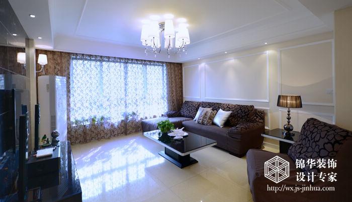 设计说明:现代简约的欧式空间设计风格表达了设计师对当代人的理想居