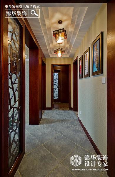 赛世香樟园—乐融和合装修-三室一厅-新中式