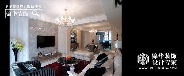 金和家园装修-三室两厅-现代简约