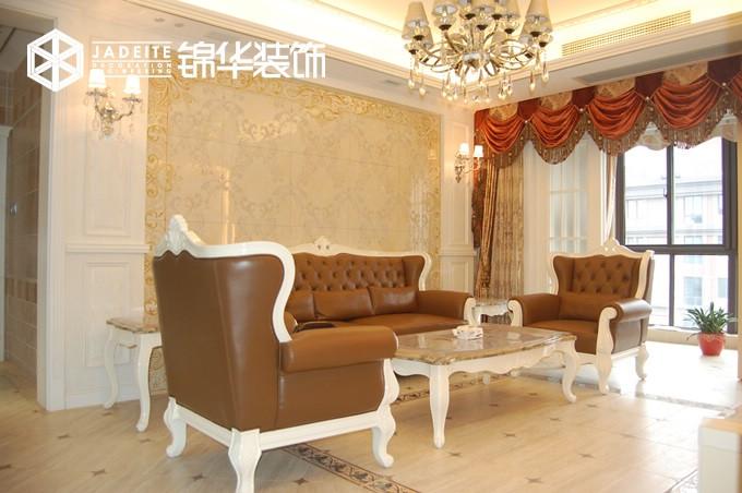 城中壹号--低调的华丽装修-三室两厅-简欧