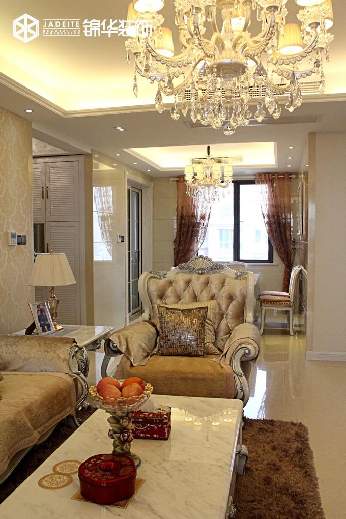 城中壹号--欧洲风情装修-三室两厅-简欧