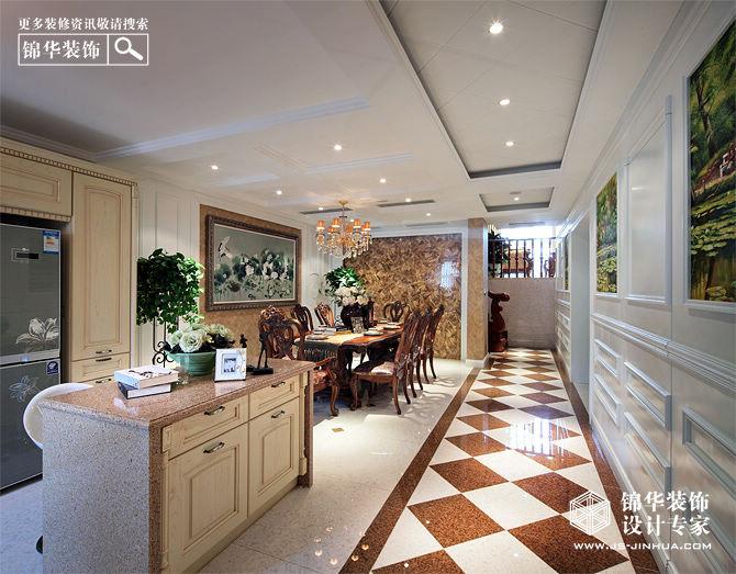 香山湖一号装修-别墅图片大全-欧式古典风格