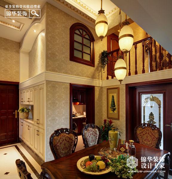 颐和南园-奢华韵味装修-三室两厅-欧式古典