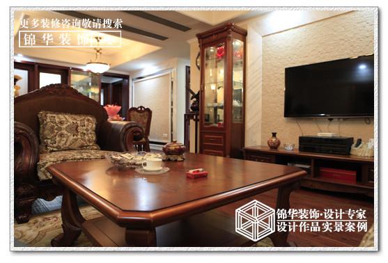 益兴名流府装修-两室两厅-欧式古典