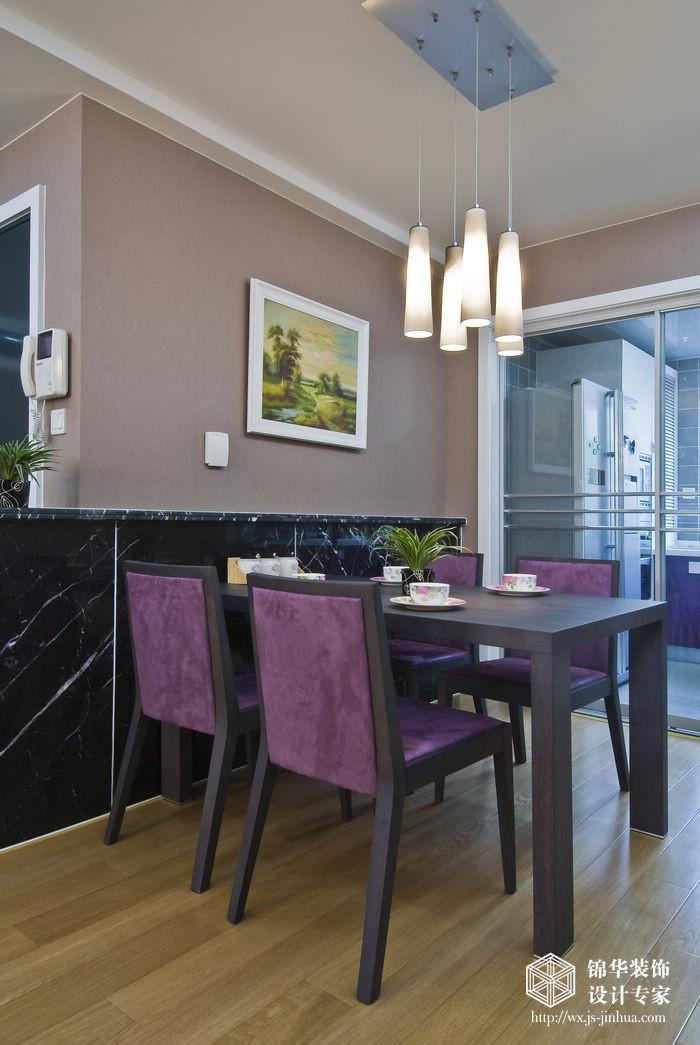 现代简约风格实景样板间装修 三室两厅装修效果图 现代简约风