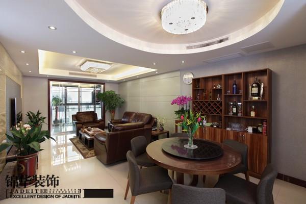 时代景城现代风装修-三室两厅-现代简约