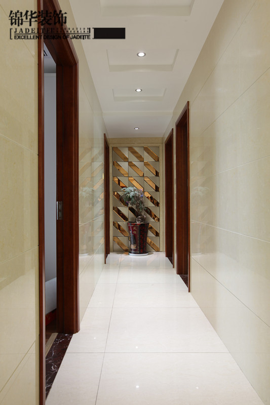 阳光城市中式情调装修-三室两厅-新中式
