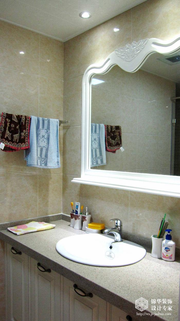时代上城127平四室两厅简欧风格婚房实景样板间装修-三室两厅-简欧