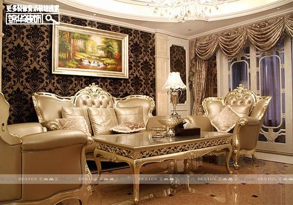 铂金人生装修-大户型-欧式古典