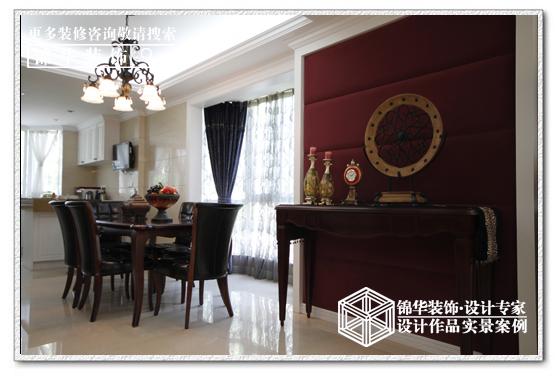 濠滨别业装修-三室两厅-新中式