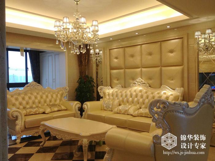 金科米兰米兰141平三室一厅欧式风格实景图