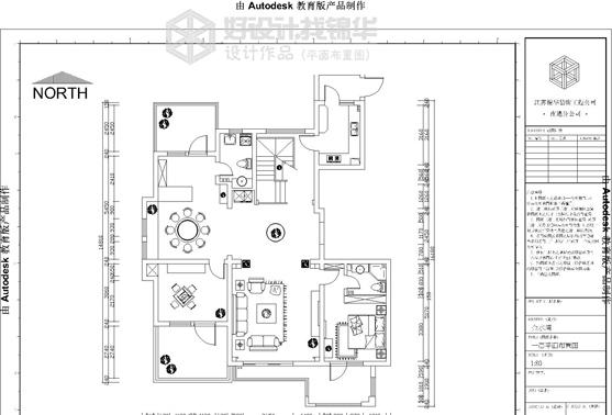 金水湾16# 05户型装修-大户型-欧式古典