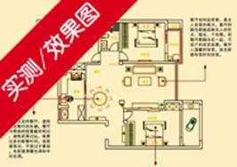 长江御园F5户型132平米