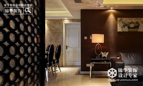 卡布奇诺-中电颐和家园装修-三室两厅-现代简约