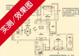 长江御园E户型143平米