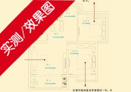 长江御园A户型91平米