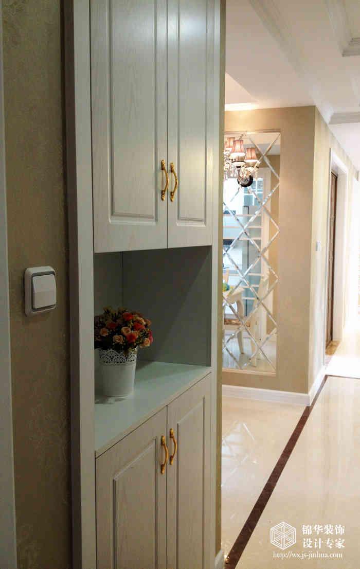 三房两厅113平混搭风格实景样板间装修 三室两厅装修效果图