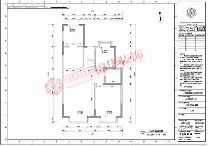 天元世家复式结构欧式风格效果图装修-大户型-欧式