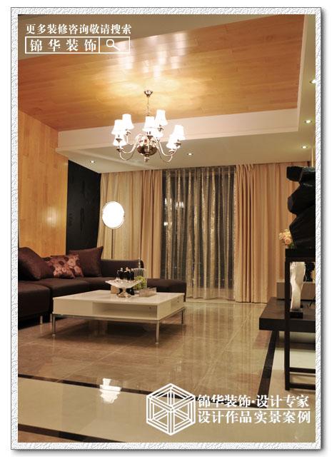 中南世纪花城装修-三室两厅-现代简约