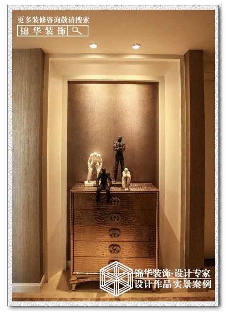 万濠华府装修-三室一厅-现代简约