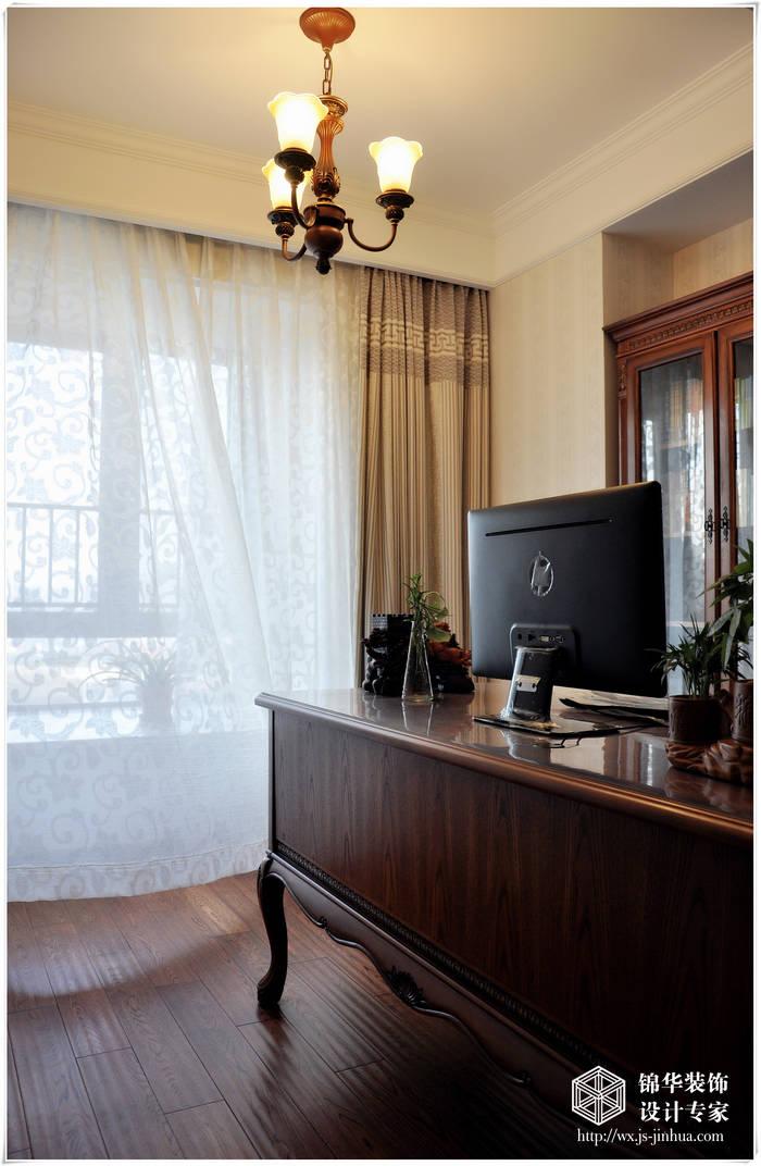 太湖国际179平米欧式风格实景样板房
