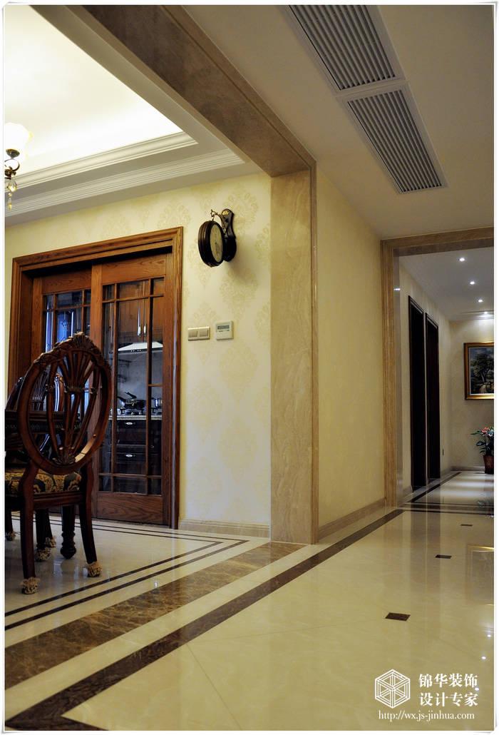 179平米欧式风格实景样板房装修-大户型-简欧风格