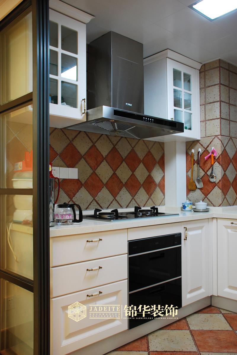 厨房装修效果图 装修图片 扬州锦华装饰