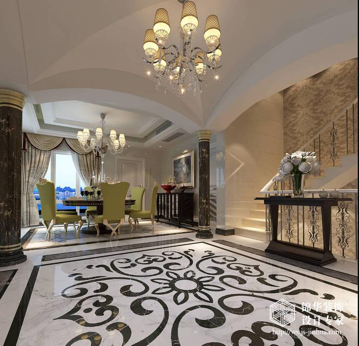 风格效果图装修 别墅图片大全 欧式古典风格 无锡锦华装饰