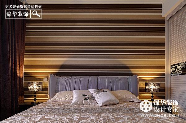 金马郦城装修-两室两厅-现代简约