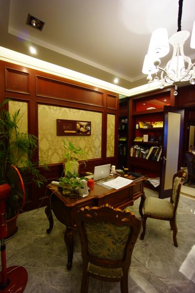 工作室设计装修-大户型-欧式古典风格