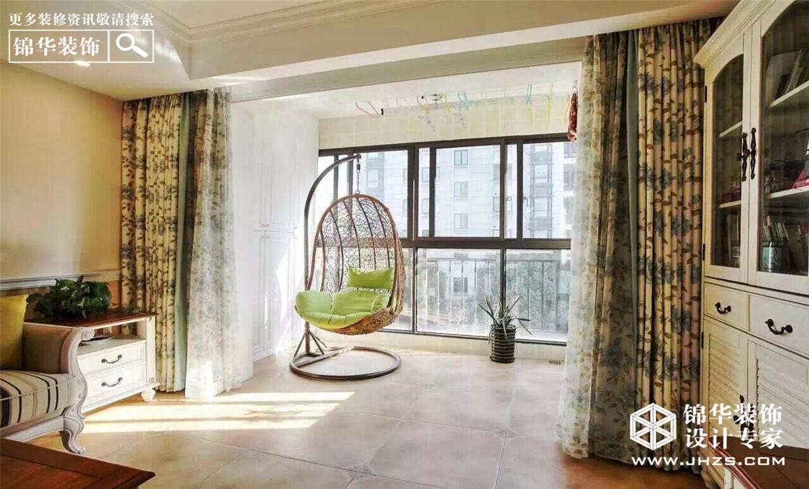 郦城国际装修-三室两厅-美式田园