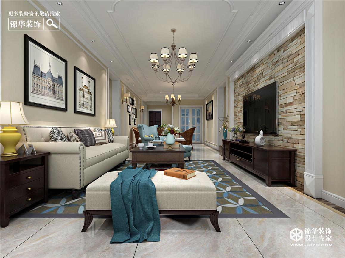 亿力未来城装修-三室两厅-简美