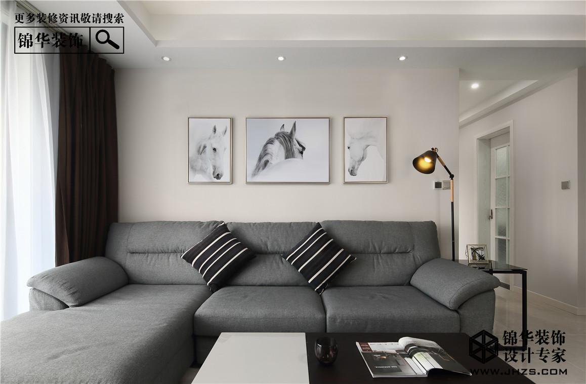 黑色幽默装修-四室两厅-现代简约