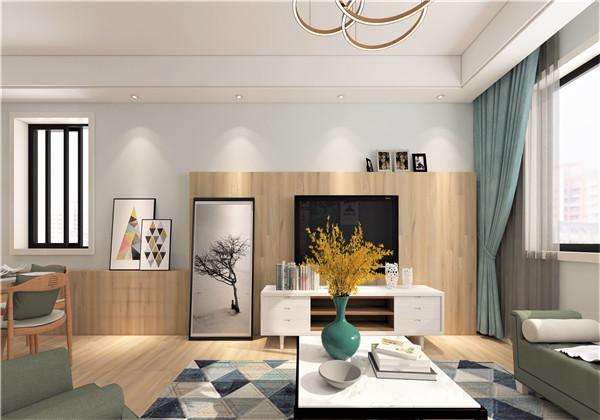 现代简约-江淮印象-110㎡-三室两厅