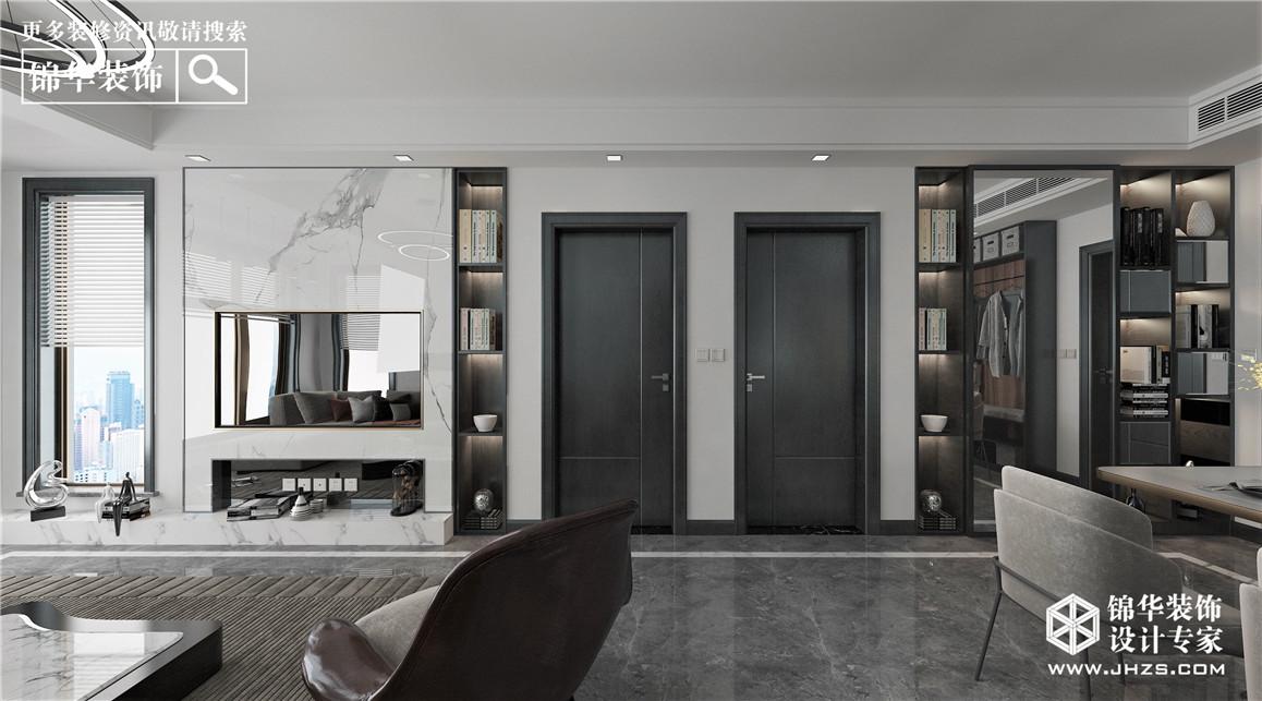 现代简约-香格里拉-112㎡-三室两厅装修-三室两厅-现代简约