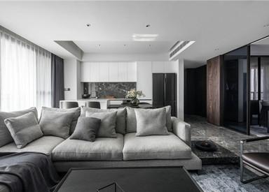 现代简约-文锦城-140㎡-三室两厅