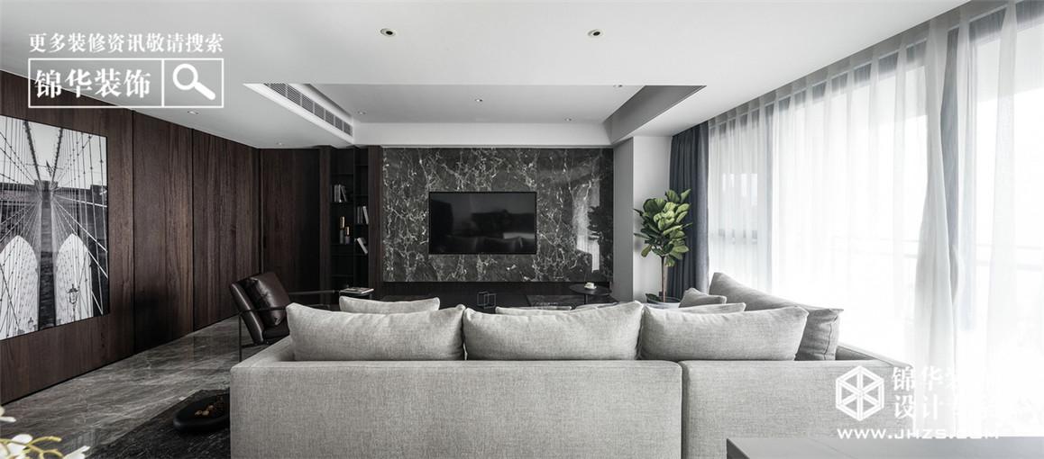 文锦城装修-三室两厅-现代简约