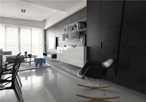 现代简约-億源国际-120㎡-三室两厅