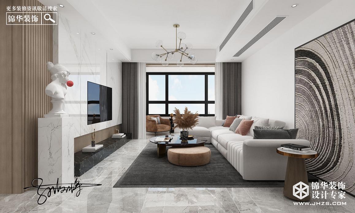 现代简约-璟和名城-三室一厅装修-三室一厅-现代简约