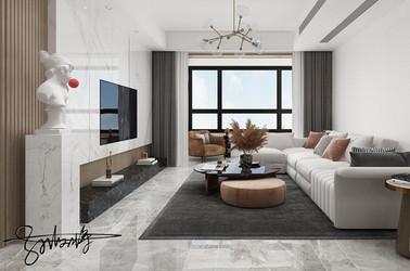 现代简约-璟和名城-三室一厅