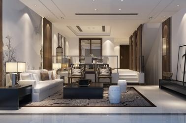 新中式-兰亭序-320㎡-别墅