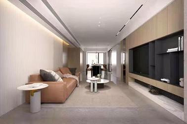 现代简约-悦公馆-125㎡-三室两厅