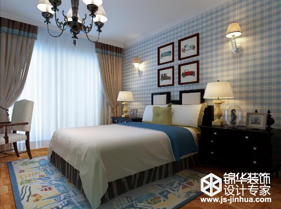 江阴水岸新都550平米欧式风格效果图装修-别墅-欧式
