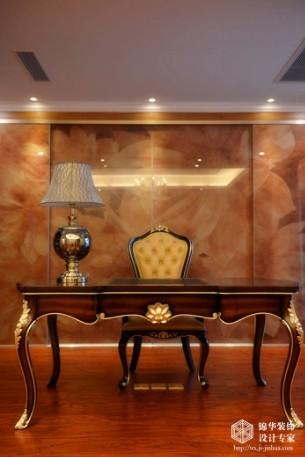 样板房装修 跃层 复式装修效果图 新古典风格 江阴锦华装饰