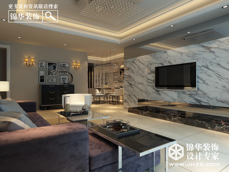 凤凰城165平米现代简约风格效果图