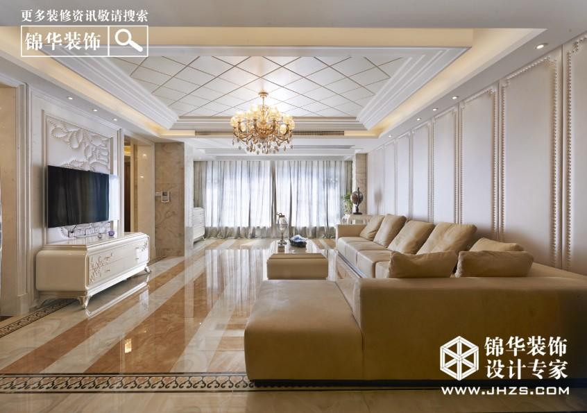 欧式后现代装修客厅