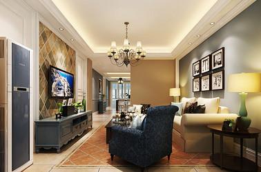 现代美式-靖江欣园公寓97平