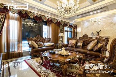 爱家名邸400平美式风格实景图